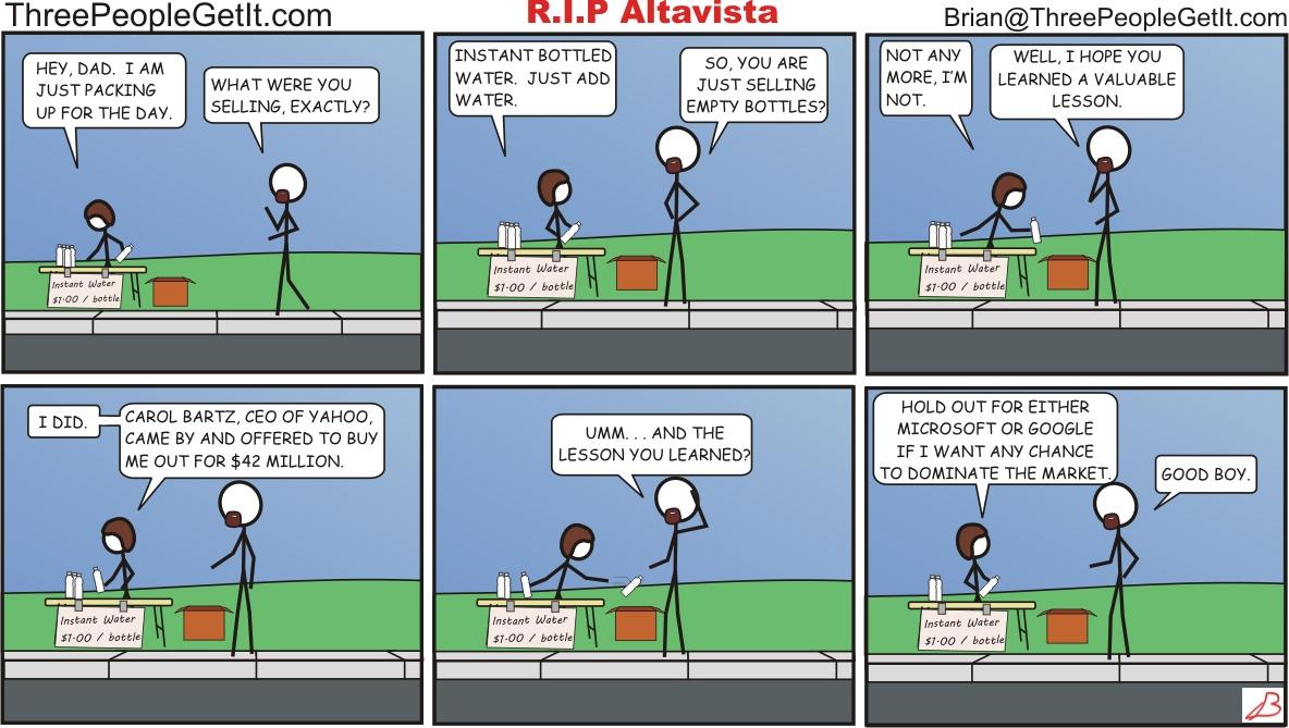 RIP AltaVista, Eff Off Yahoo!