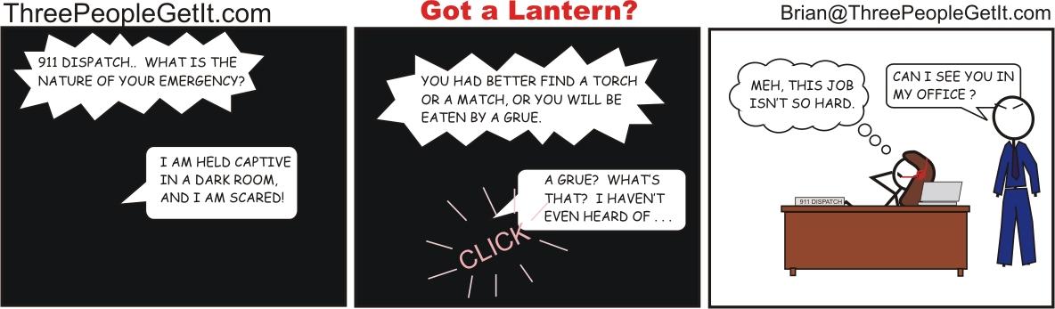 Got A Lantern?