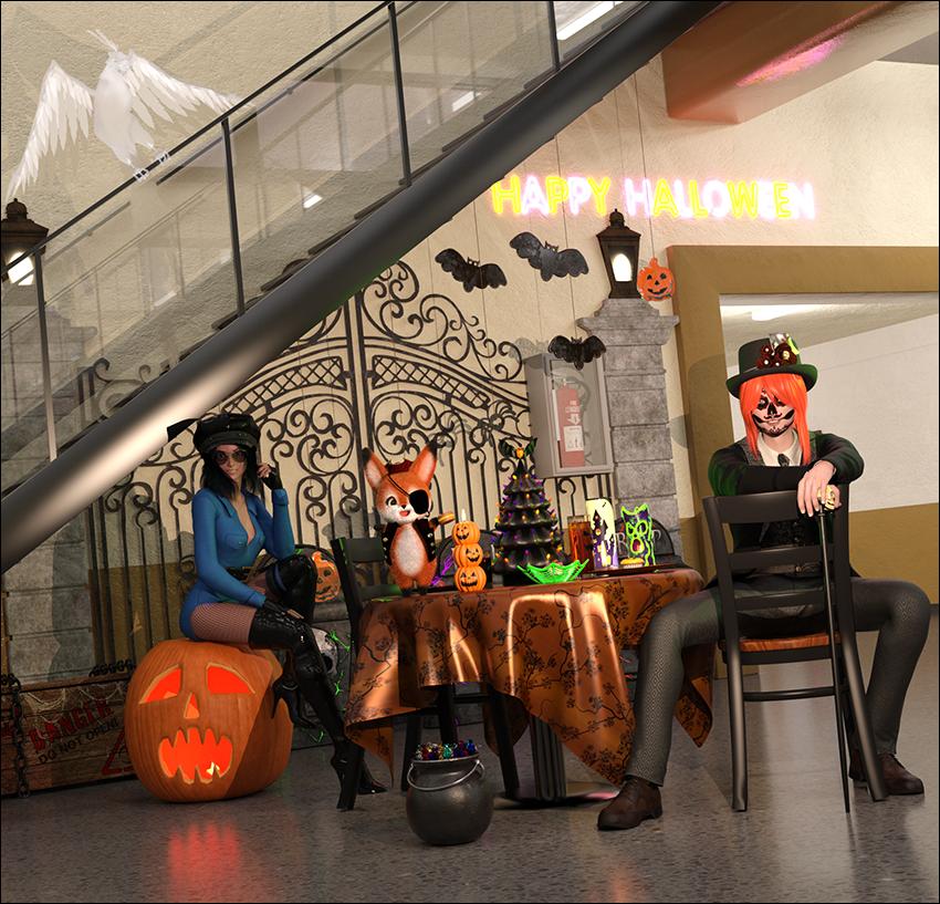 Shinedo Crew on Halloween (filler 3)