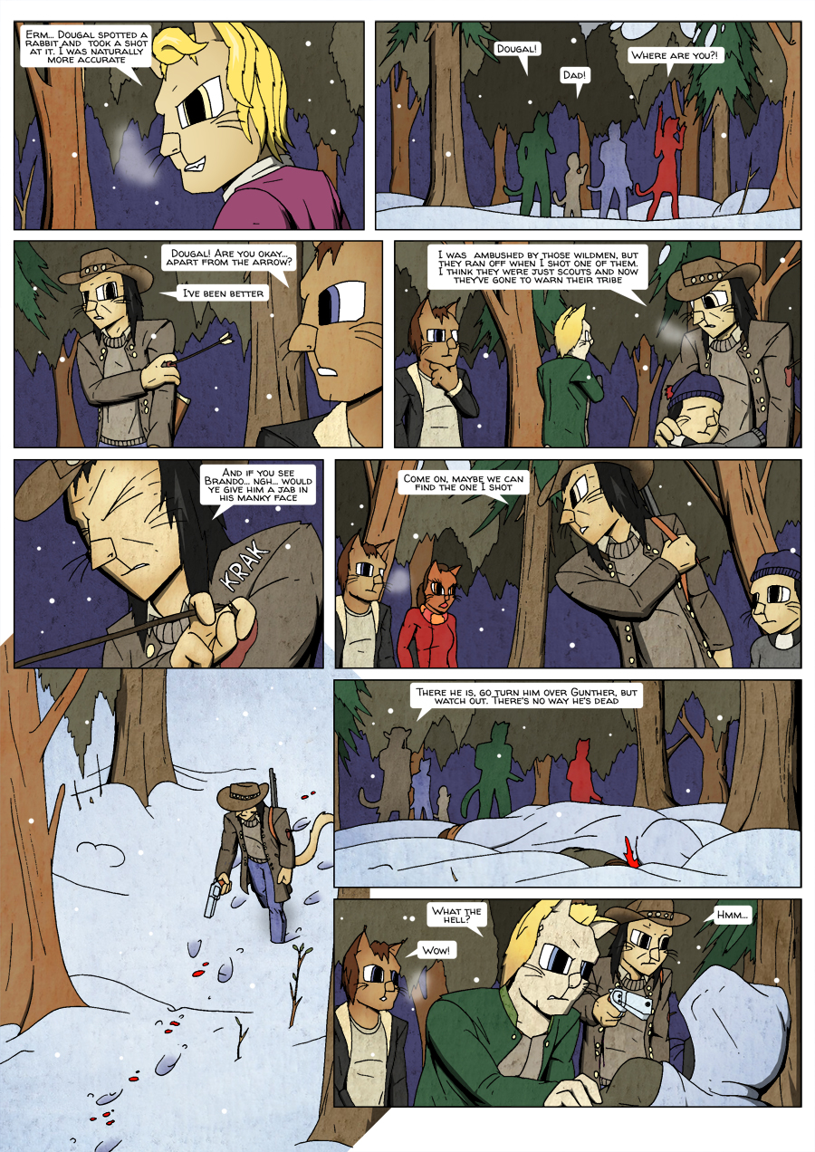 Ninth Life: Dead of Winter page 17