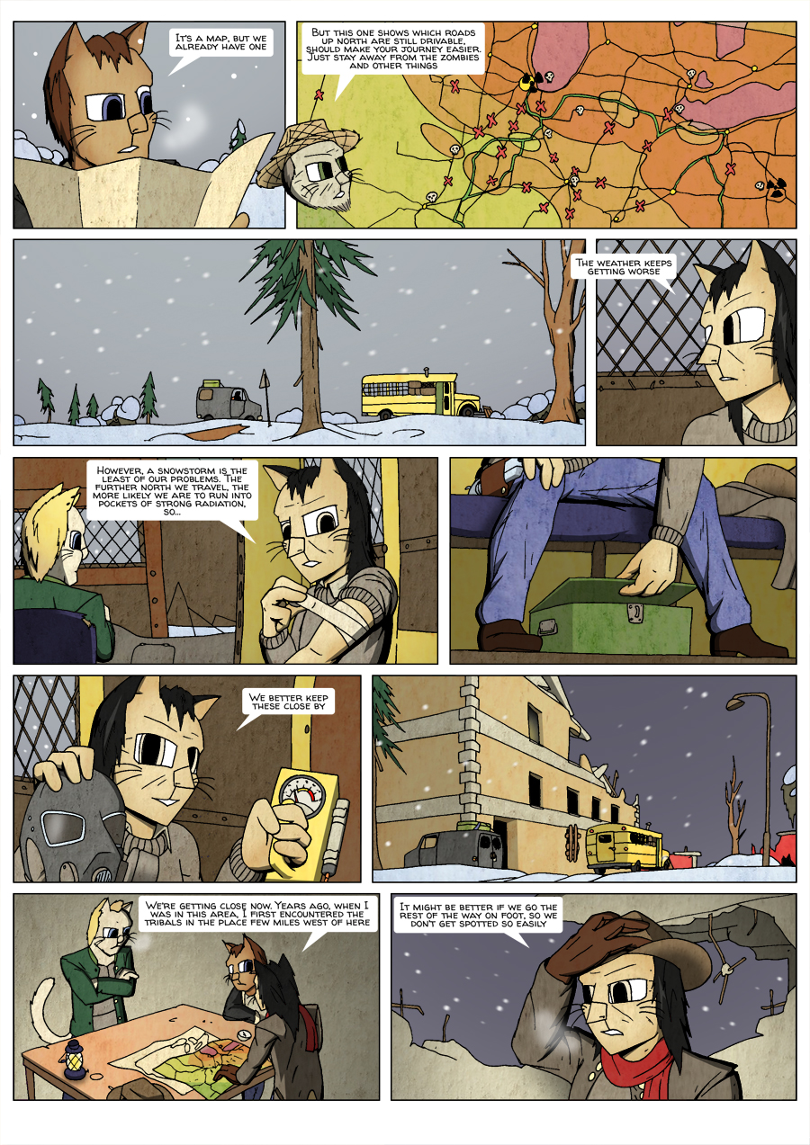 Ninth Life: Dead of Winter page 19