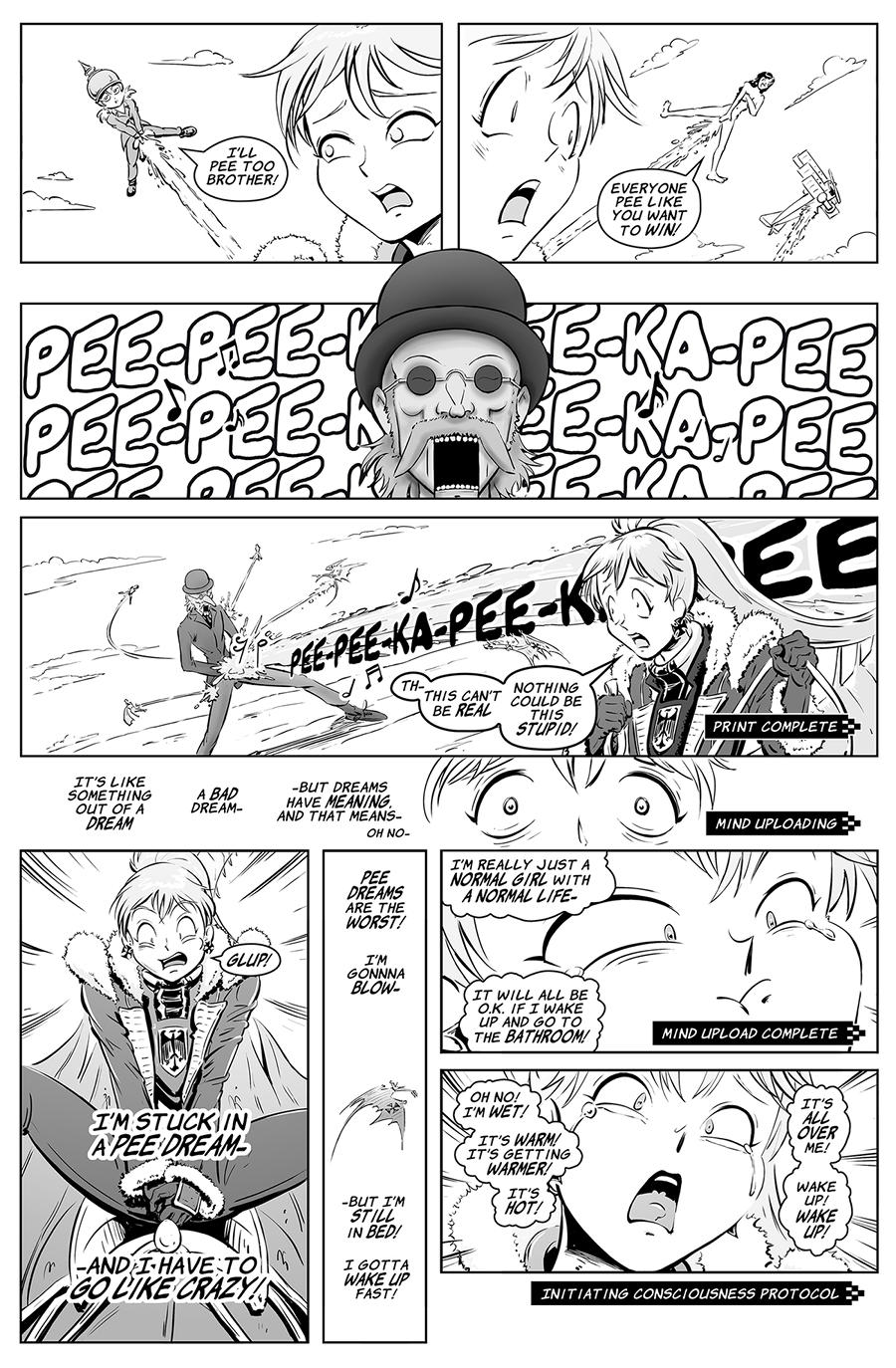 Sky Pirate Evangelium 13