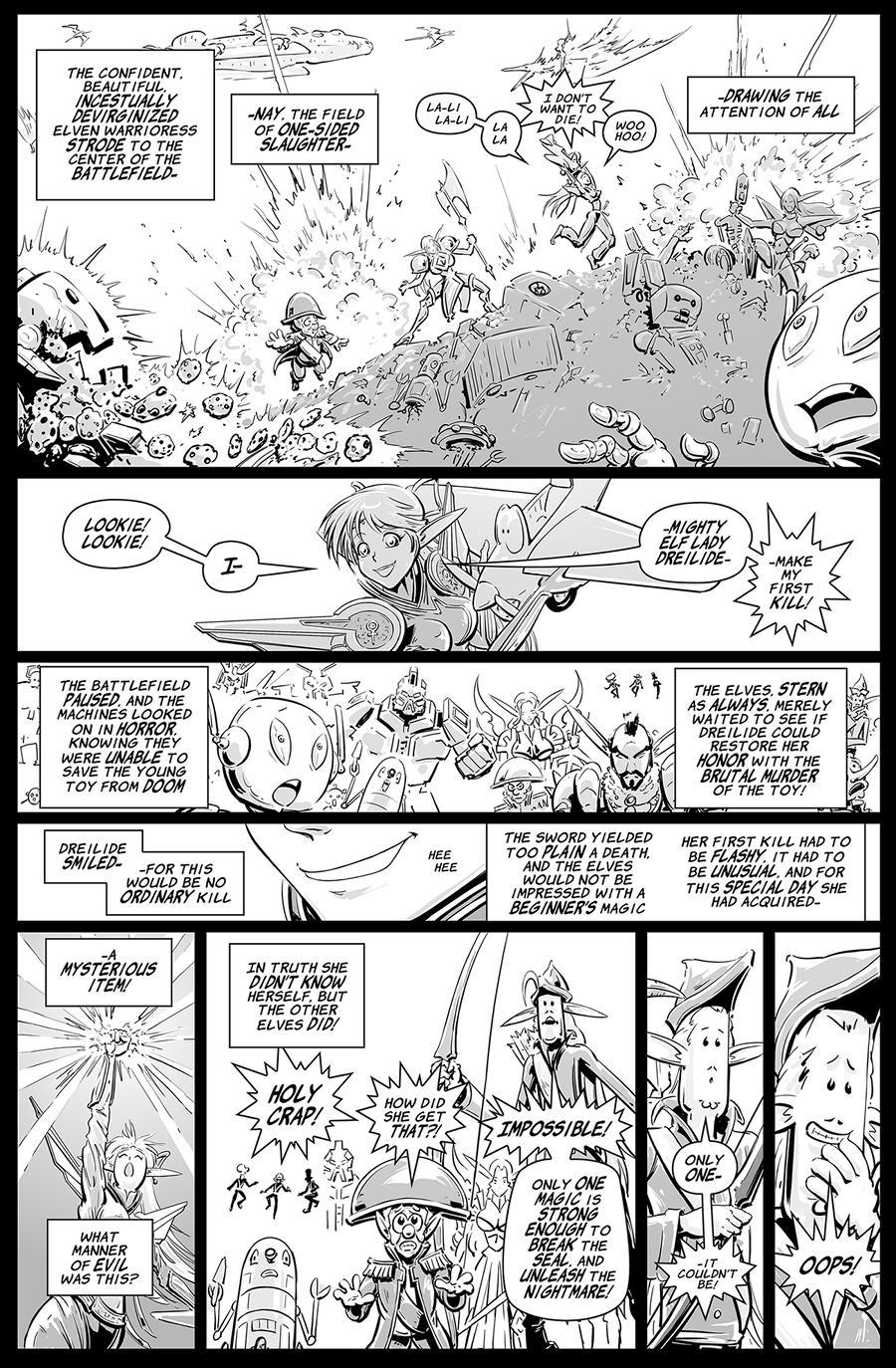 Battlescarred Dragatica 13