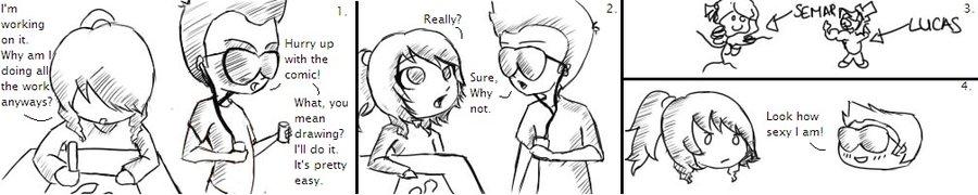 Why Semar Draws . . .