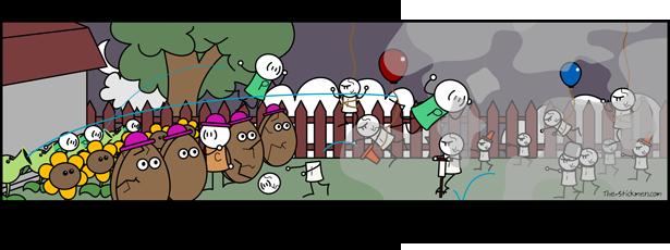 Sticks Vs Zombies