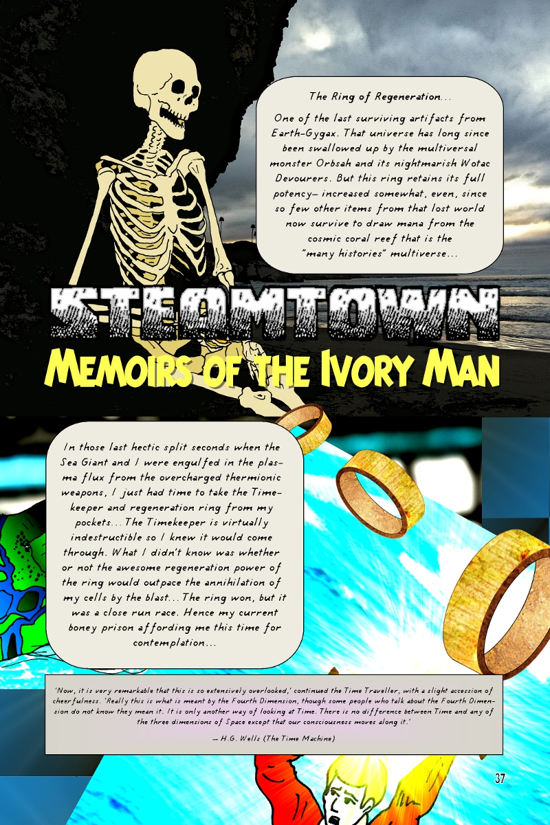 Memoirs of the Ivory Man