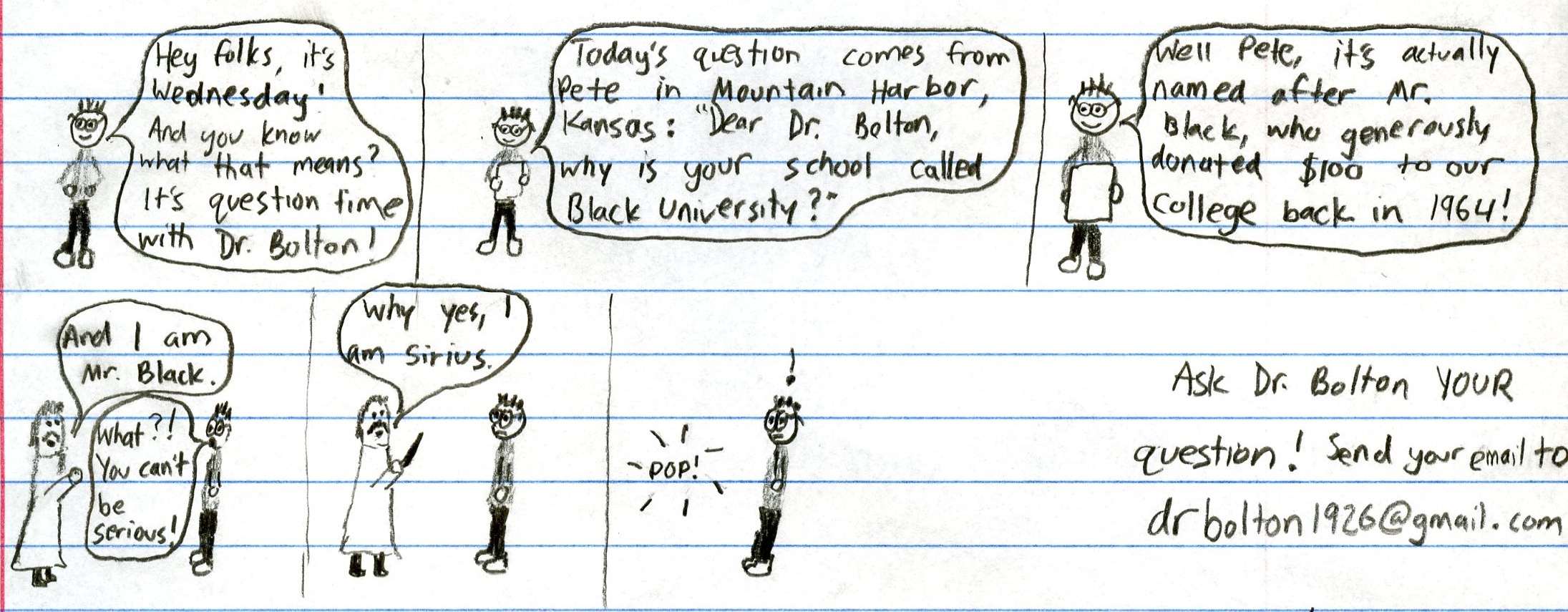 Ask Dr. Bolton
