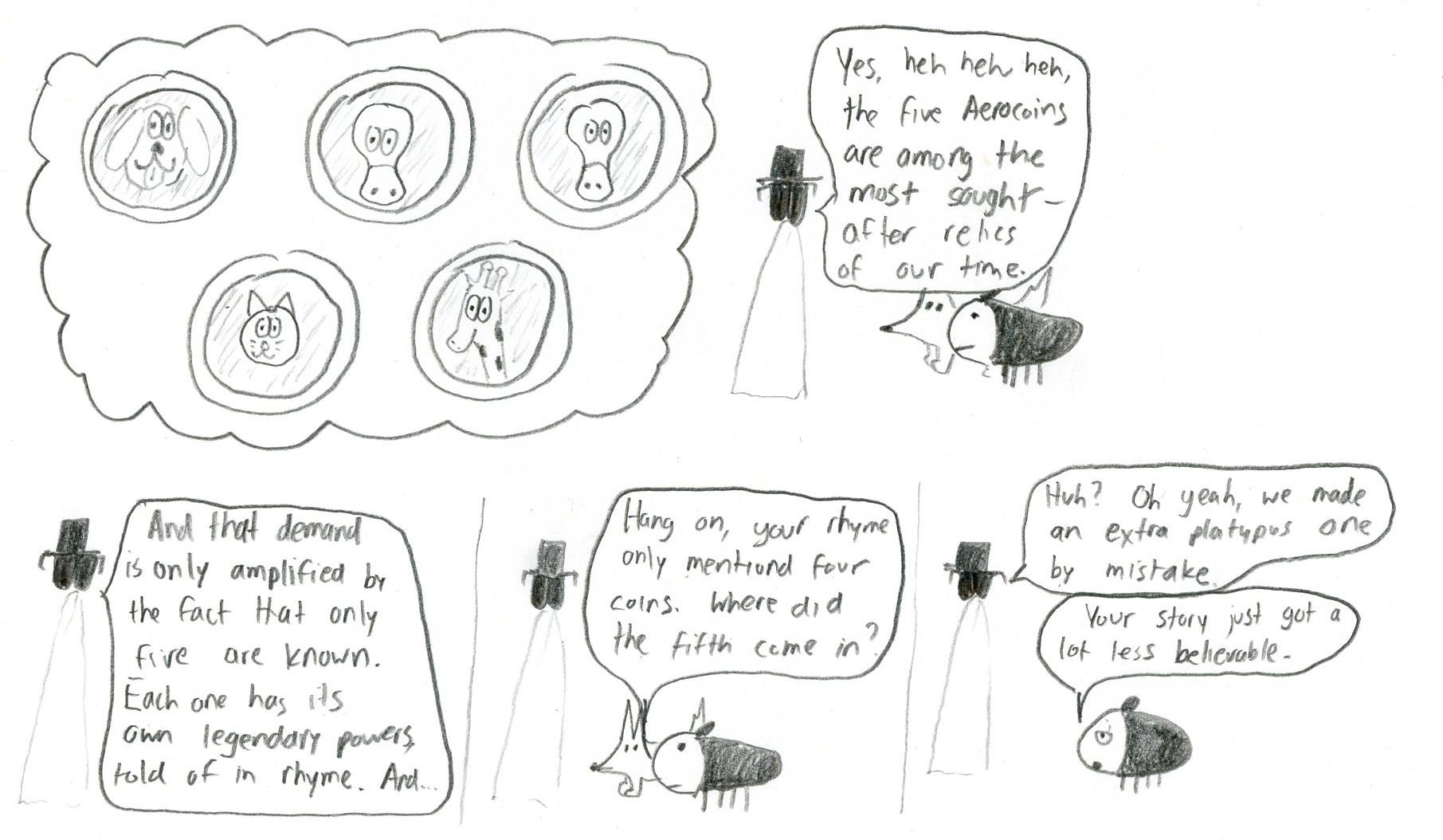 The Five Aerocoins