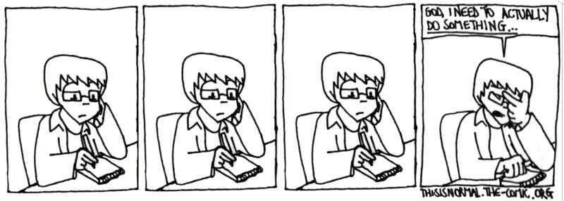 The Issue with an Autobiographical Webcomic