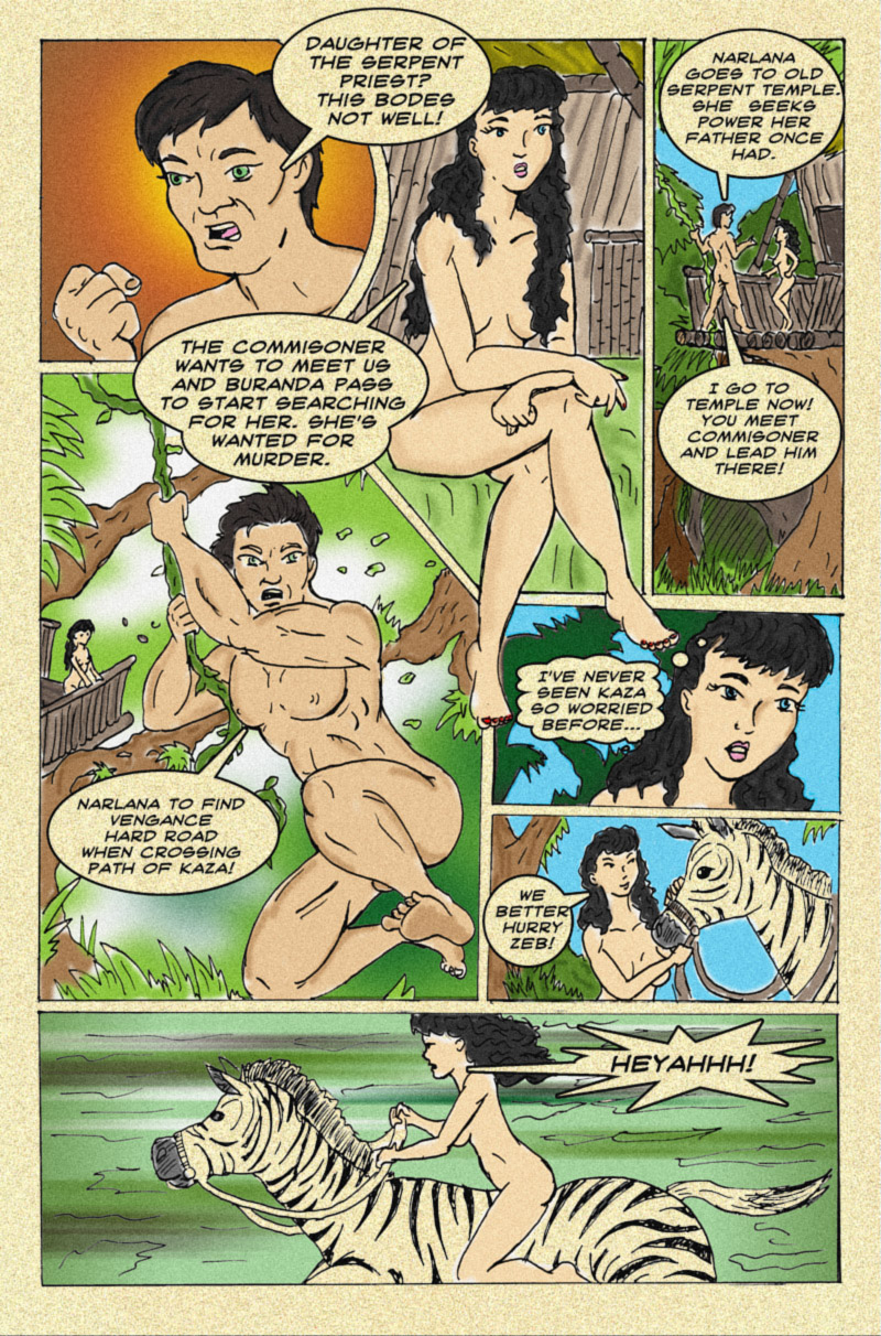 The Serpent Sorceress: Page Three