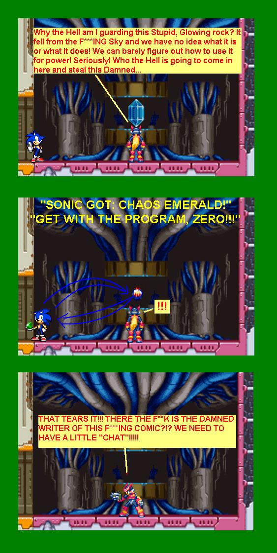 0027 Sonic Vs. Zero