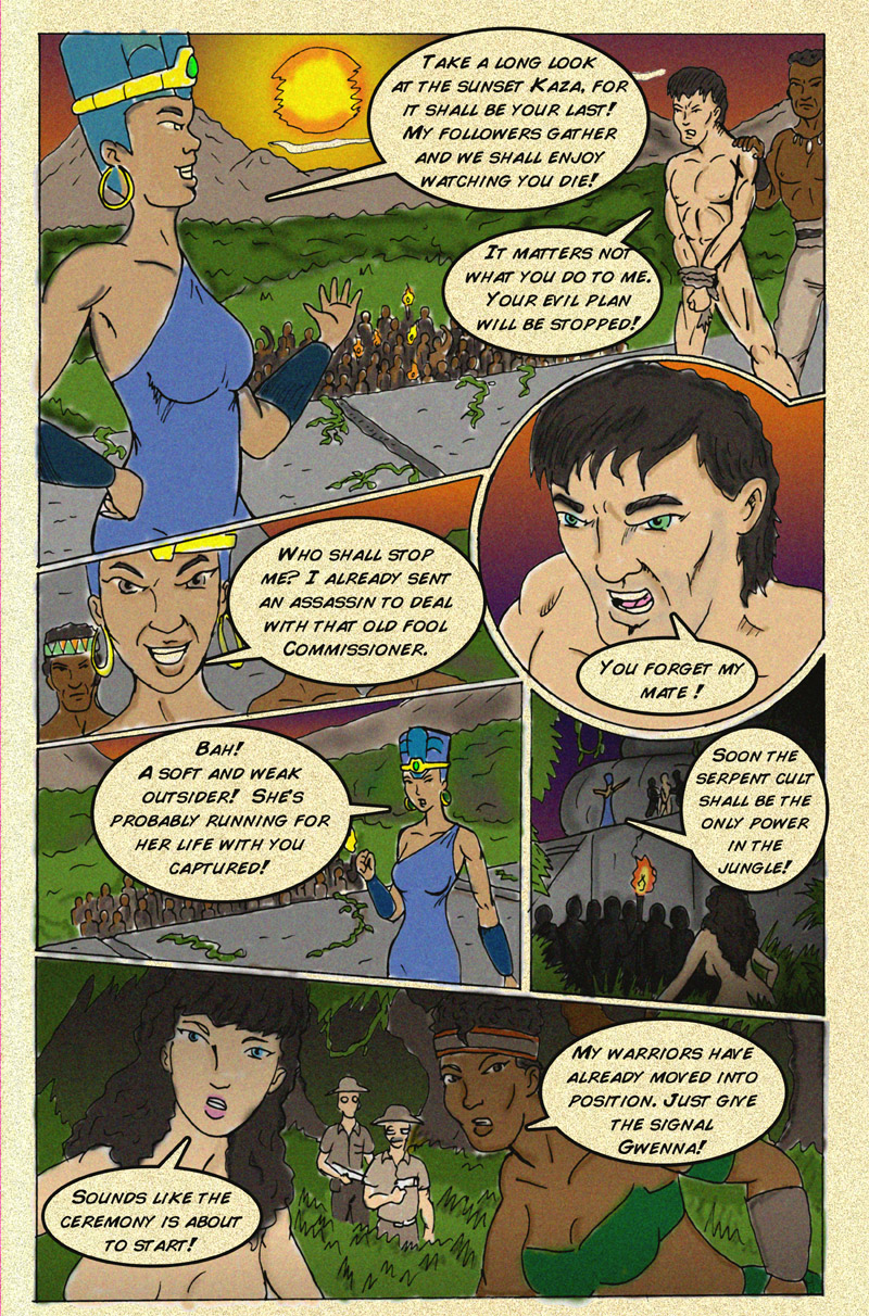 The Serpent Sorceress: Page 8