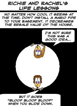 Life Lessons-Mario Pipe