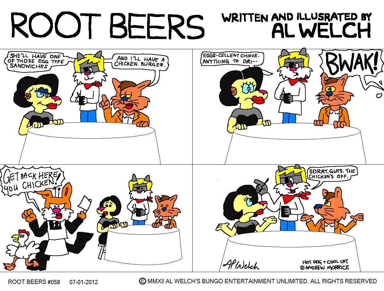 Root Beers 058 - Chicken Service