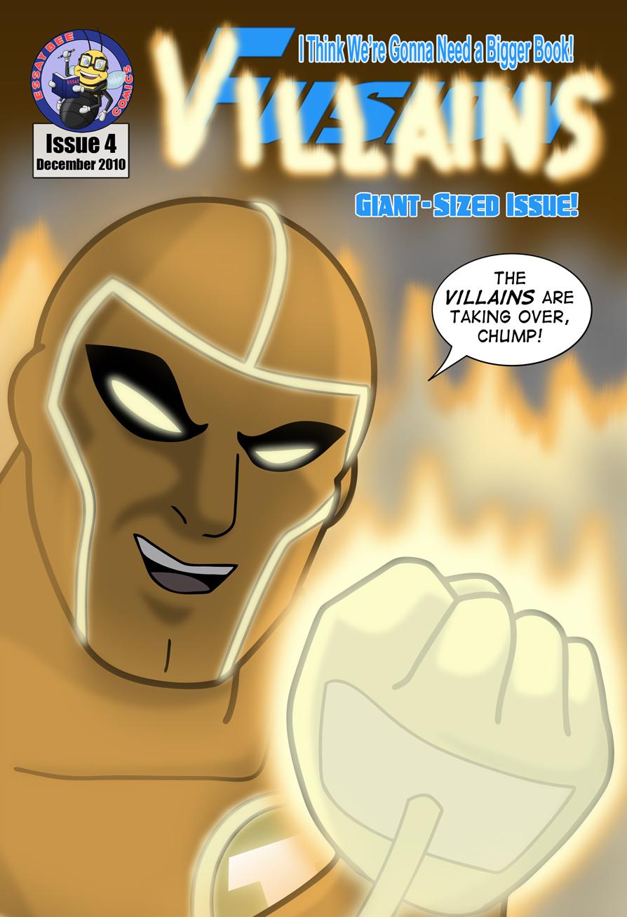 Fusion #4 Cover