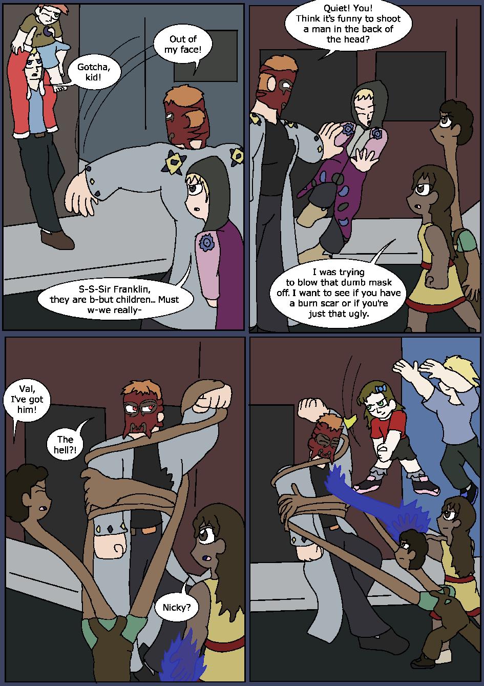Heroes Wear Blue, Page 25