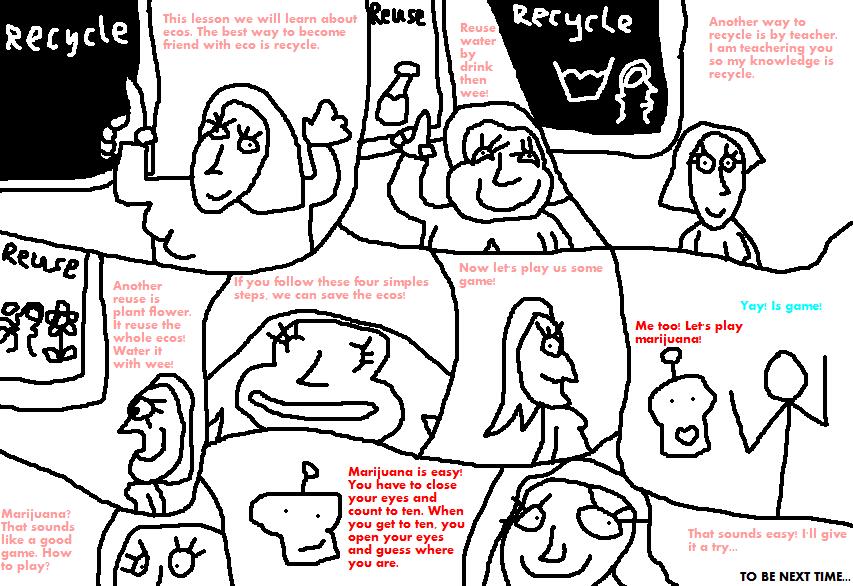 Recycle, Reuse, Repossess