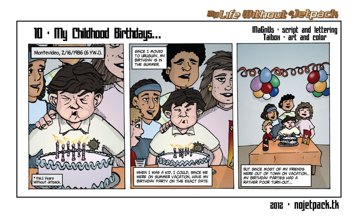 10-My Childhood Birthdays…