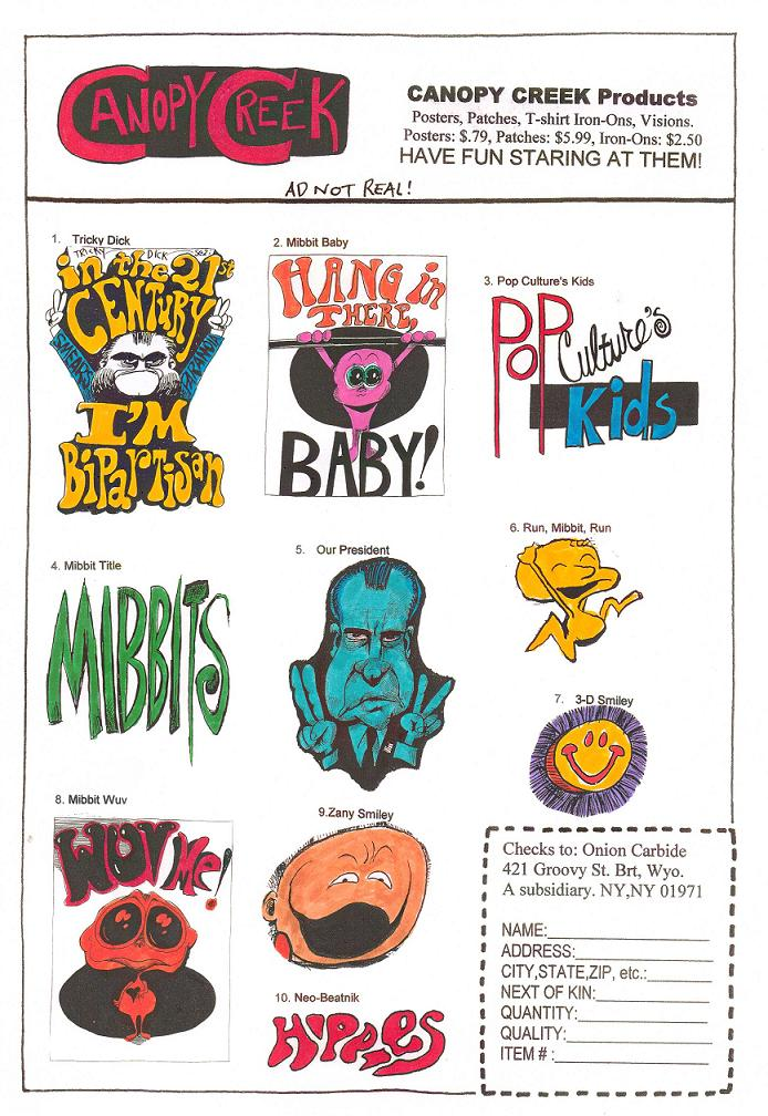 PCK: Color Sunday Special - Comic Book Ad Parody