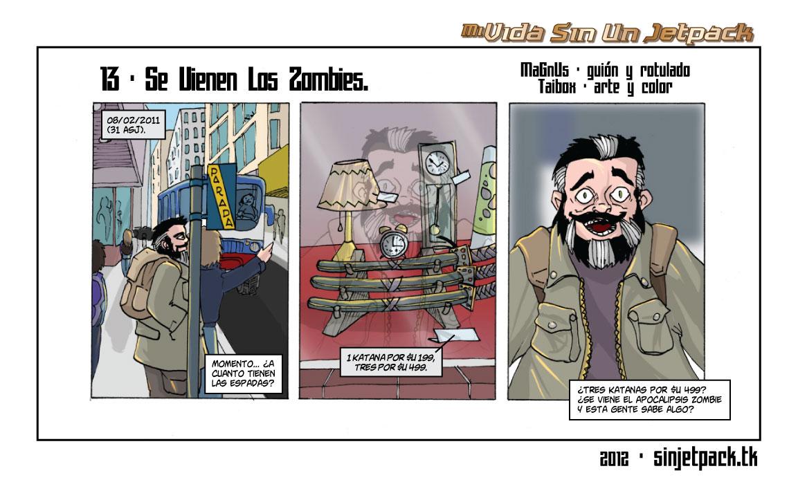 13 - Se Vienen Los Zombies.