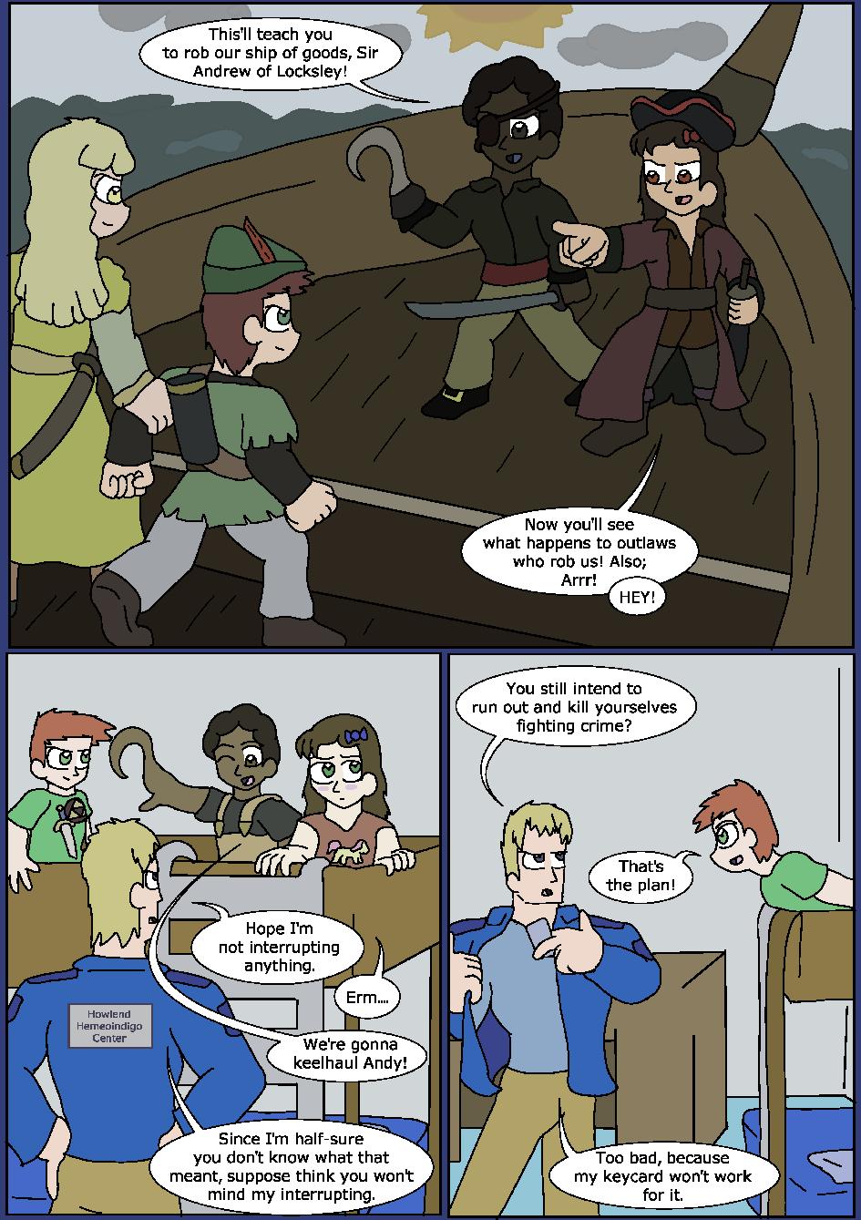 Shining Blue Light, Page 2