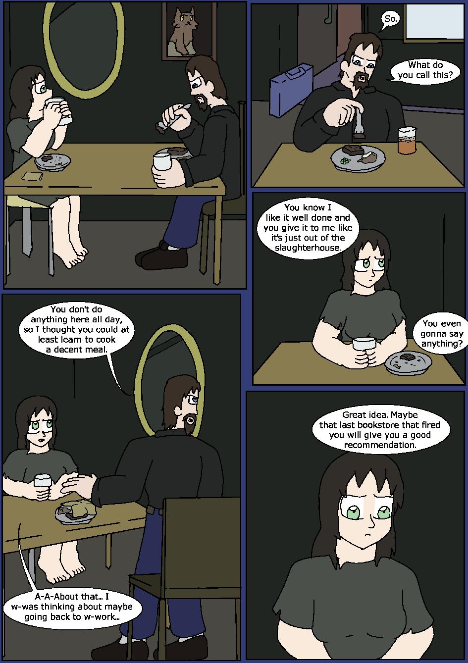 Shining Blue Light, Page 5