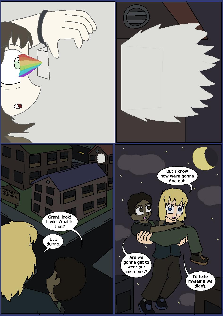 Shining Blue Light, Page 21