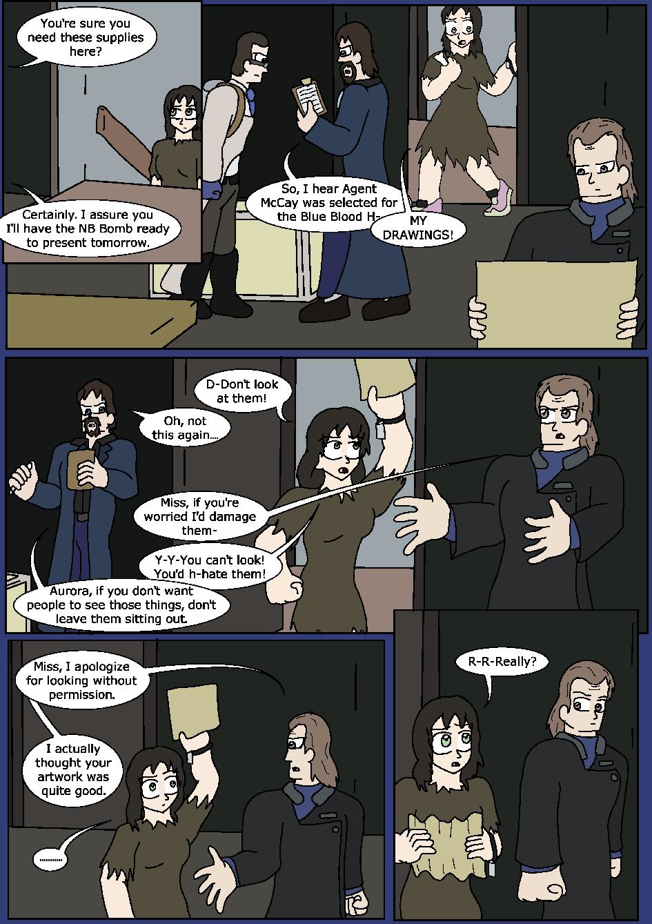 Shining Blue Light, Page 13