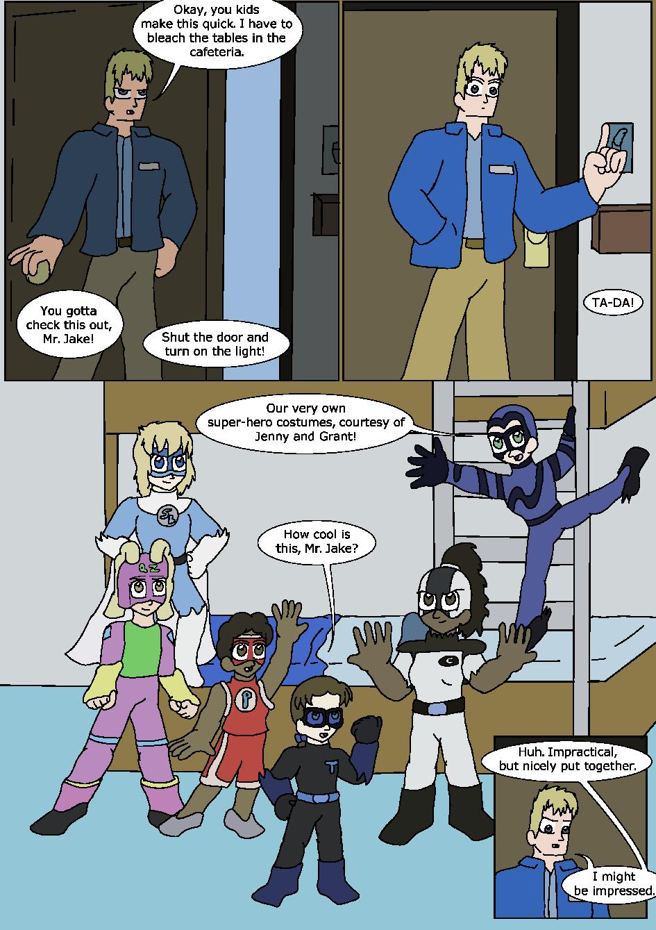 Shining Blue Light, Page 9
