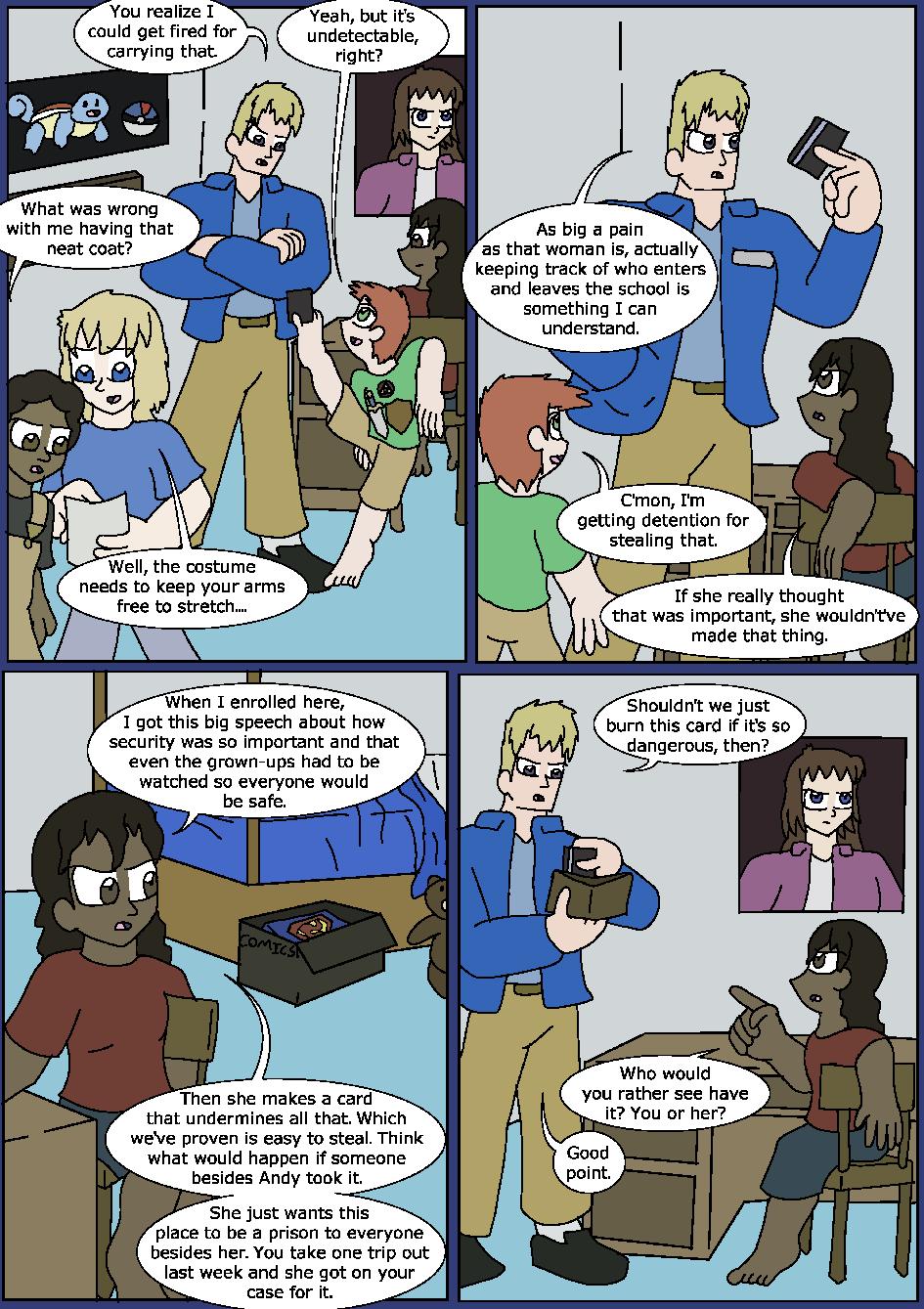 Shining Blue Light, Page 7