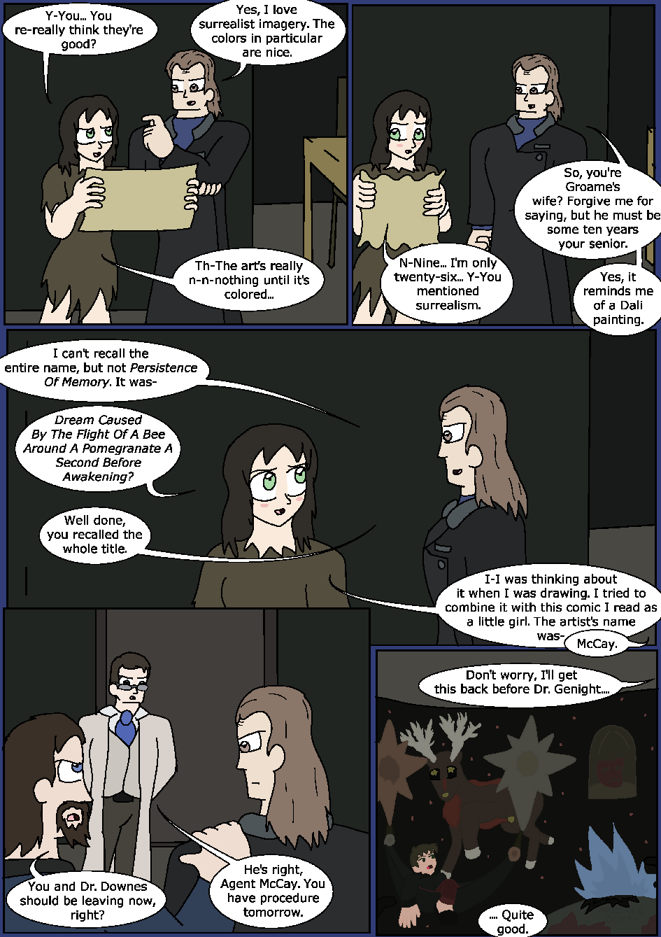 Shining Blue Light, Page 14