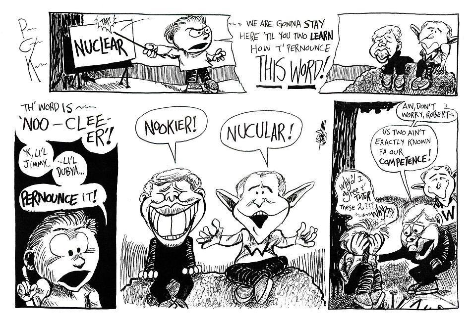 Bobby and the Prez-nunciations