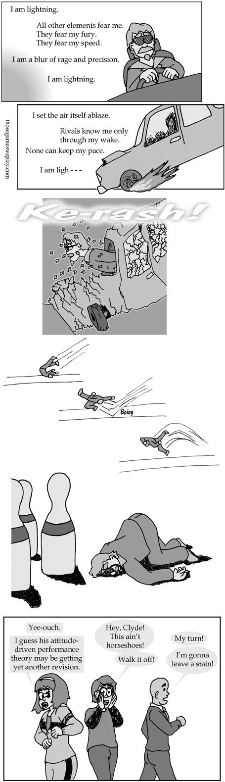 FlatOut: Ultimate Carnage - Ragdoll vs Flopdown