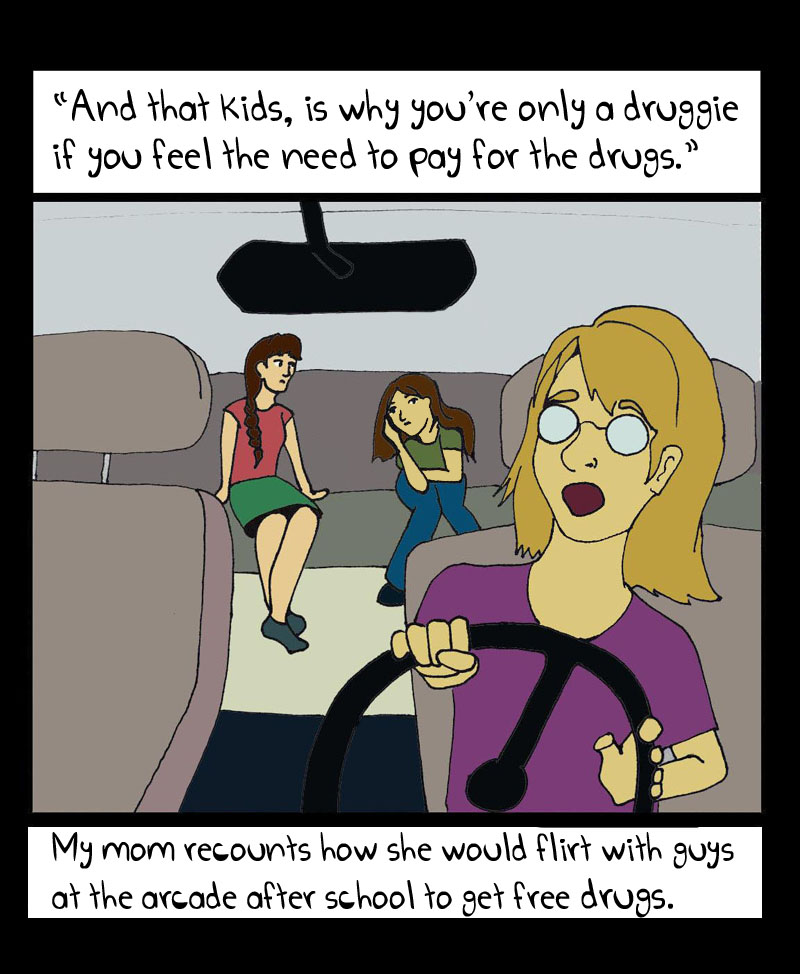 Moms and Drugs