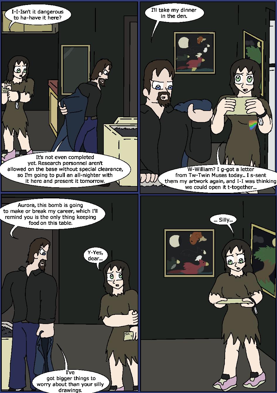 Shining Blue Light, Page 16