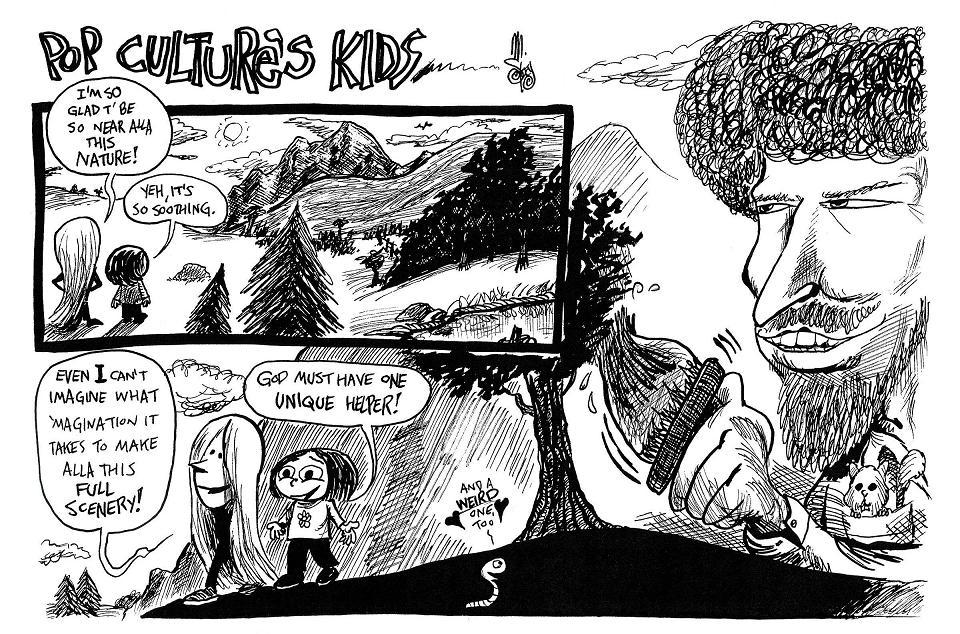 A Happy Little Web Comic