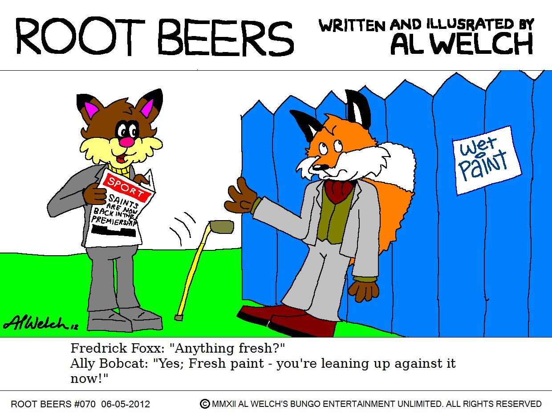Root Beers 070 - He Looked Blue!