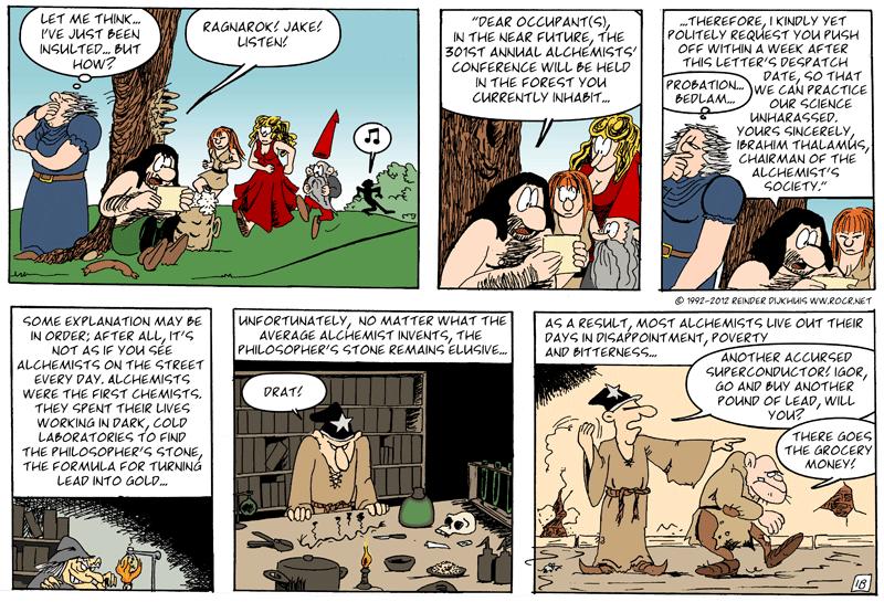 Some historical background on alchemists