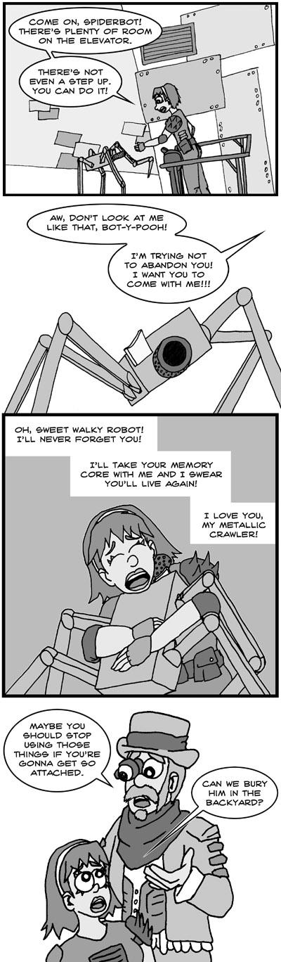 Rage - My Cutesy Robo Spider Puppy!