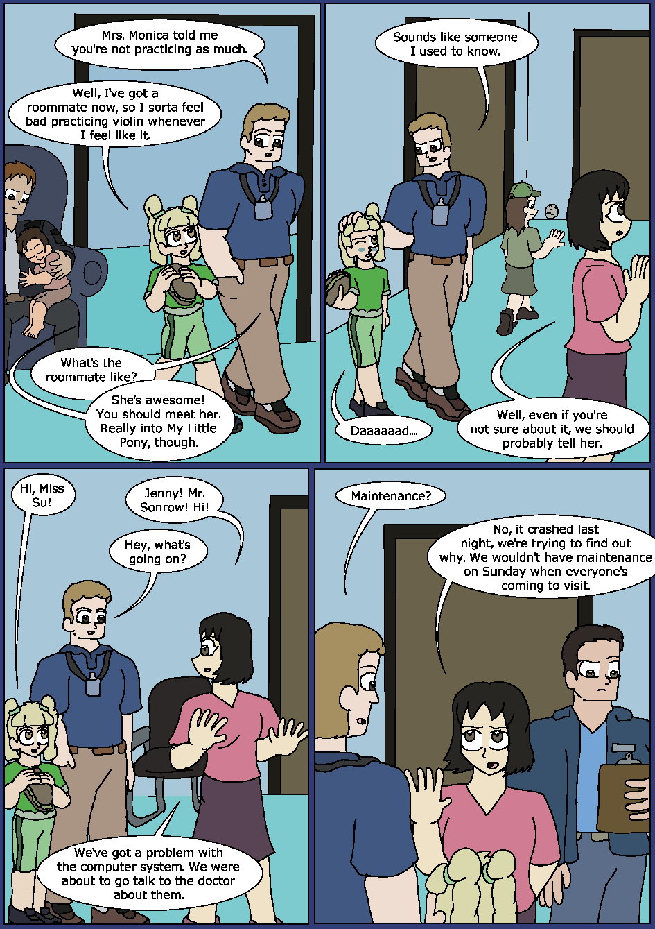 Blue Bloodlines, Page 7