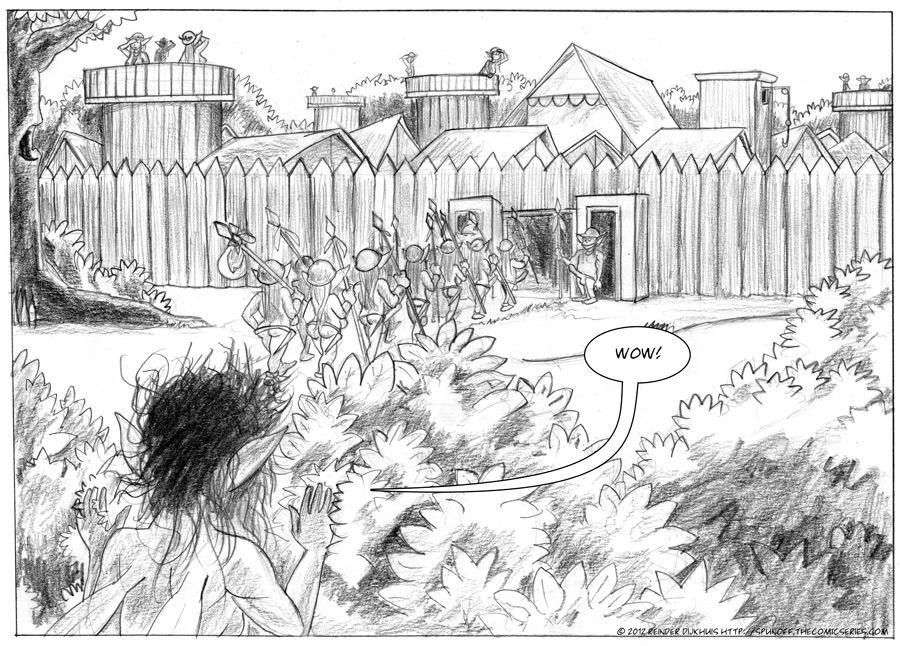 The Goblin village