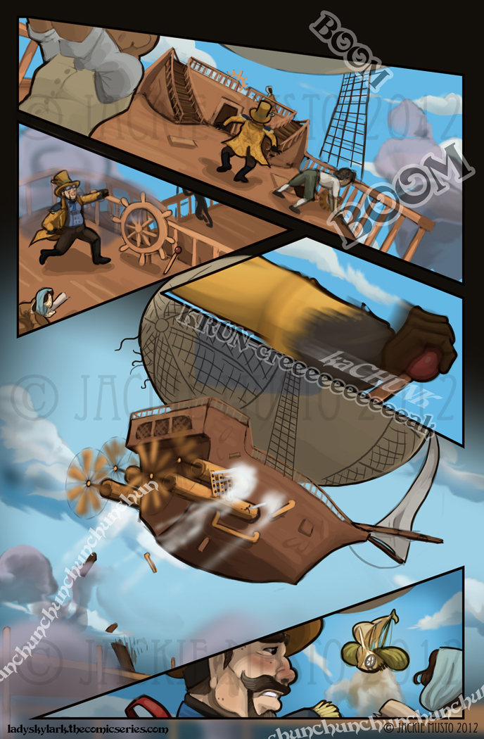 Lady Skylark and the Queen's Treasure - Page 27