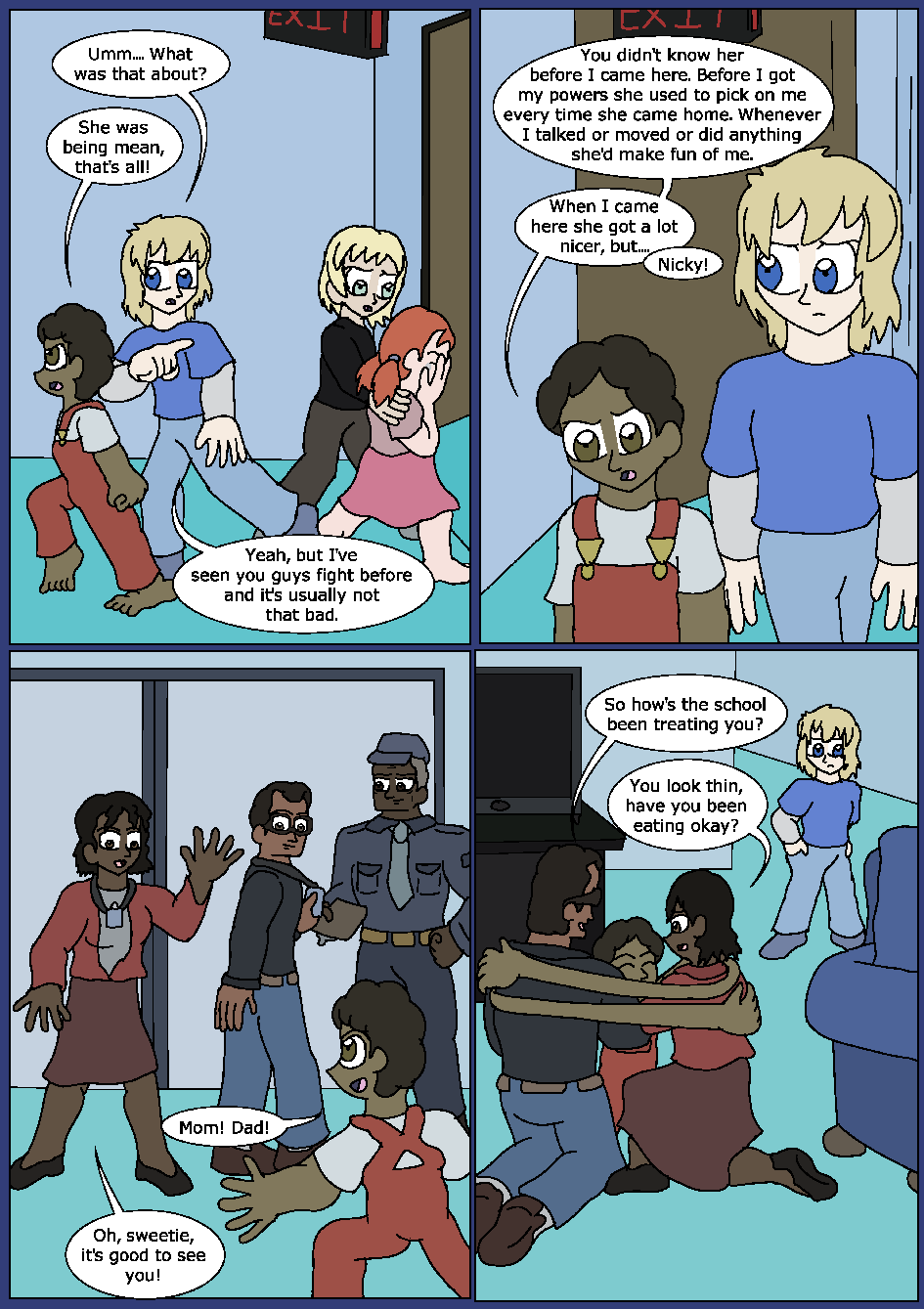 Blue Bloodlines, Page 3