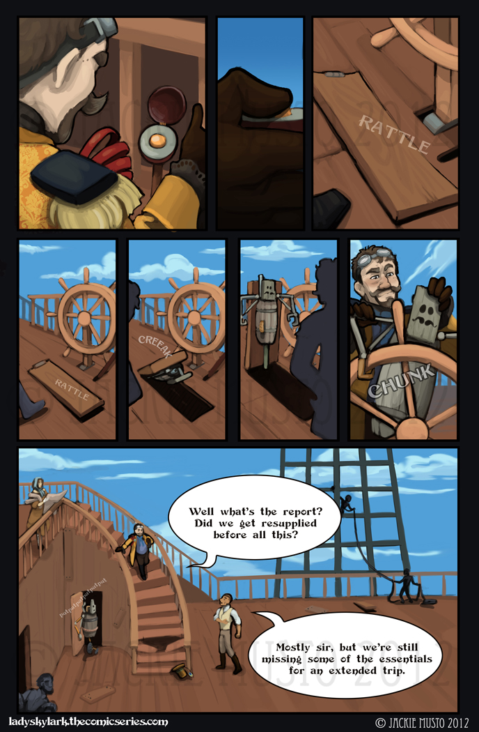 Lady Skylark and the Queen's Treasure - Page 31