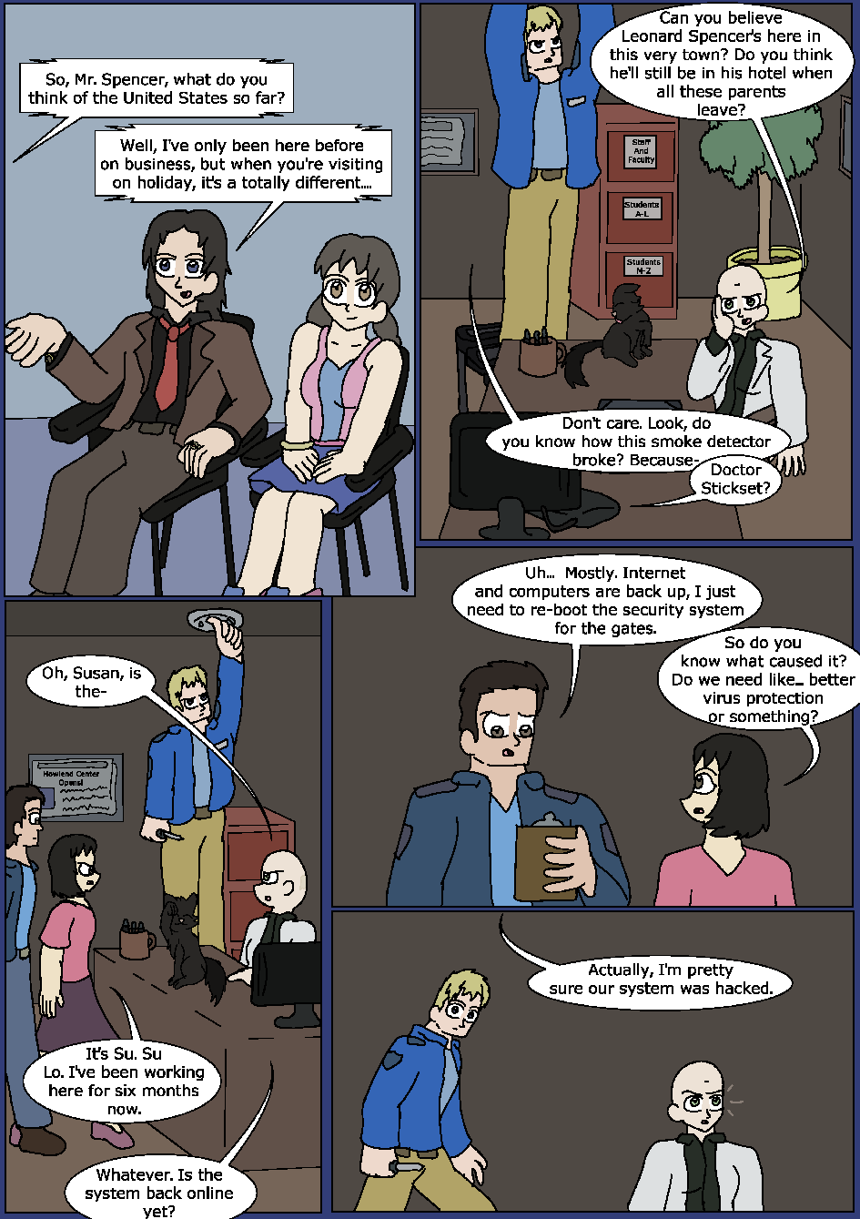 Blue Bloodlines, Page 8