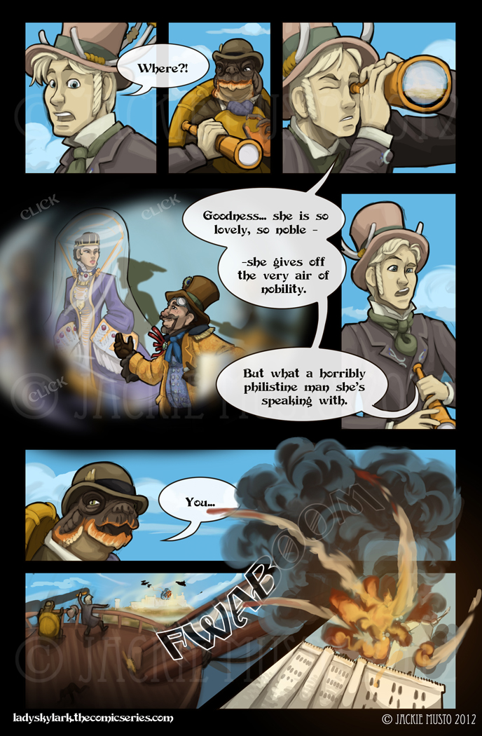 Lady Skylark and the Queen's Treasure - Page 24