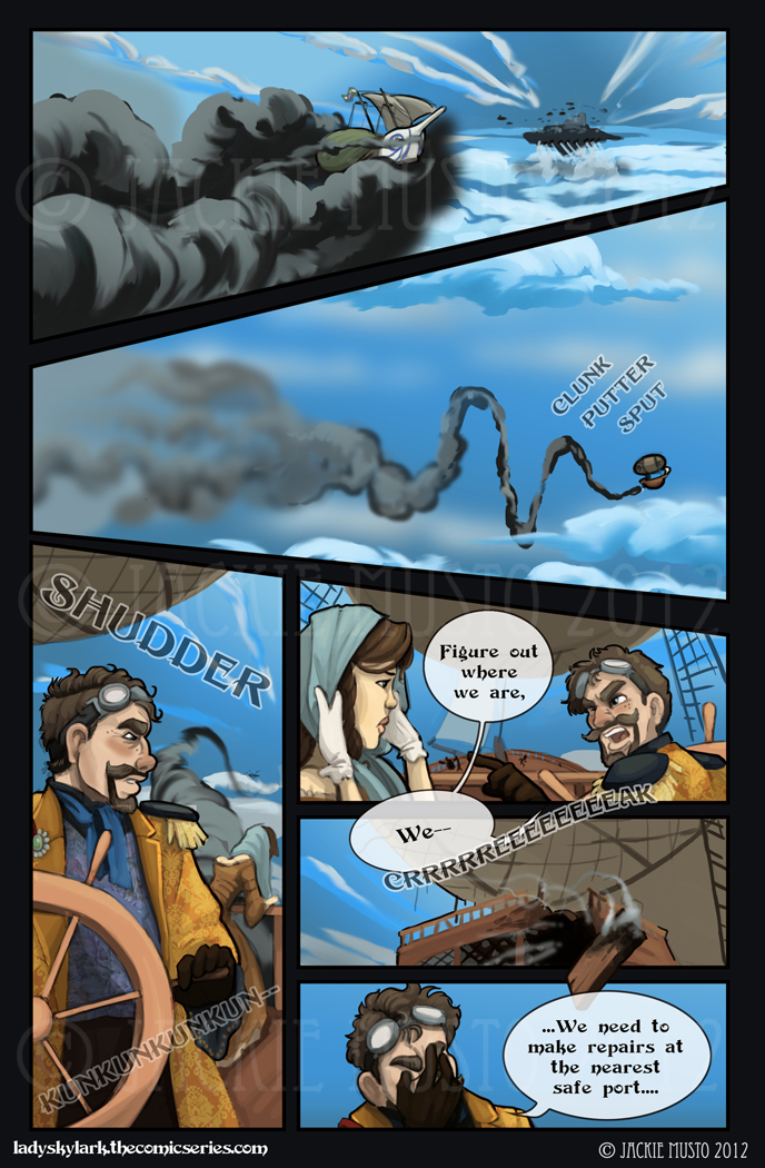 Lady Skylark and the Queen's Treasure - Page 30