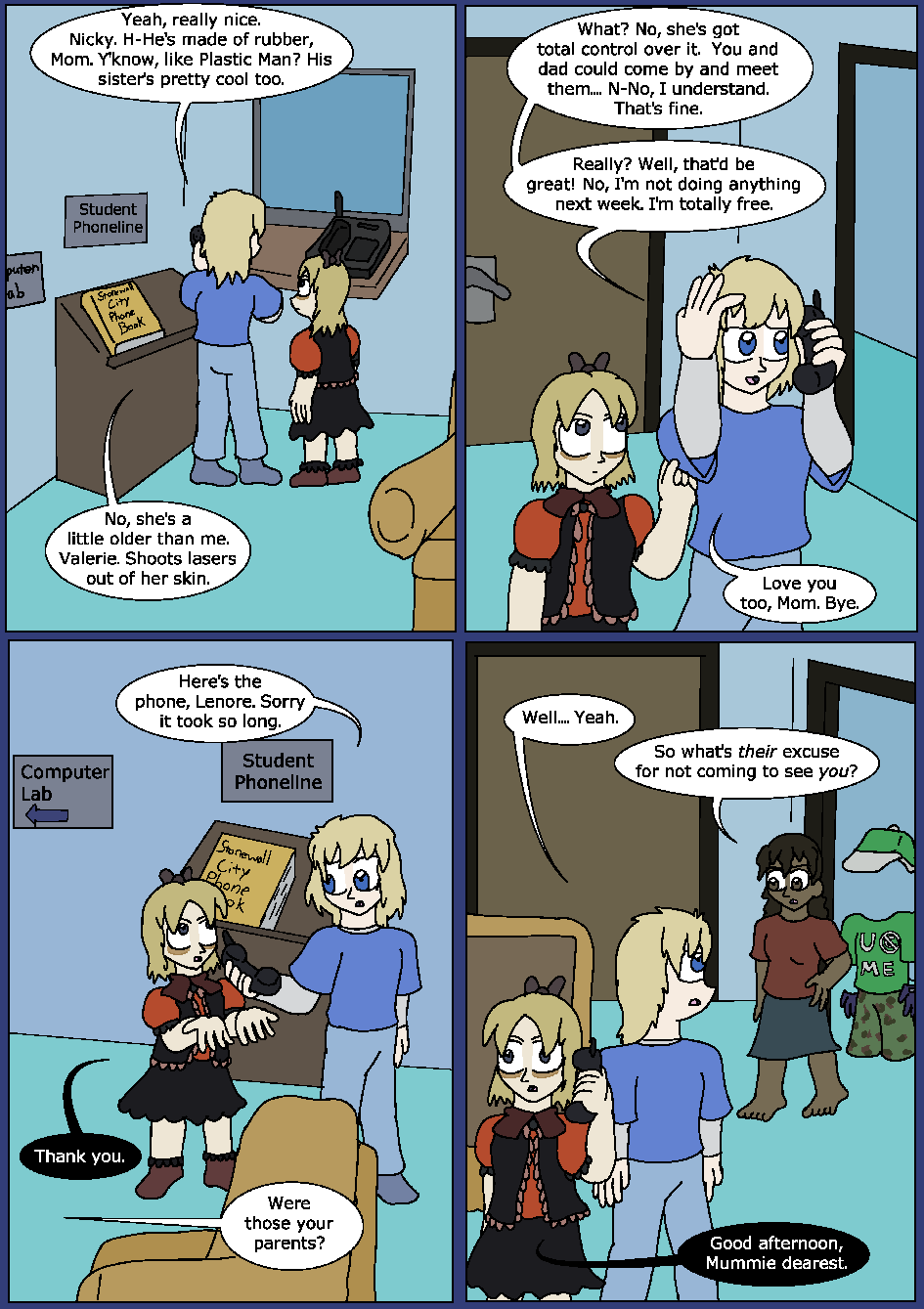 Blue Bloodlines, Page 5