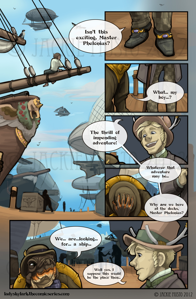 Lady Skylark and the Queen's Treasure - Page 18