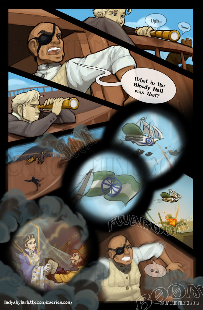 Lady Skylark and the Queen's Treasure - Page 25